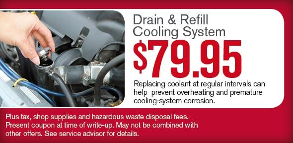 Coolant Flush Coolant Service Coupon Phoenix Az