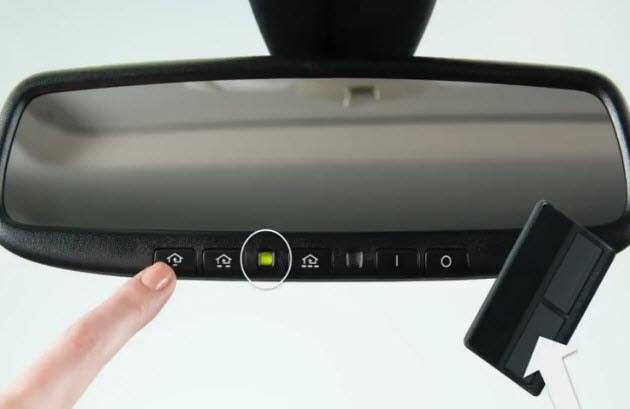 How to Program Nissan HomeLink Transceiver