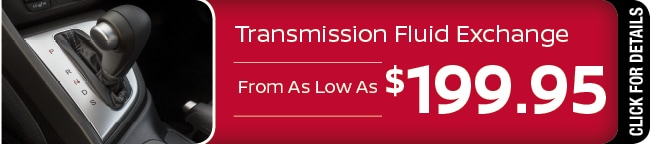Transmission Fluid Exchange Special, Phoenix, AZ