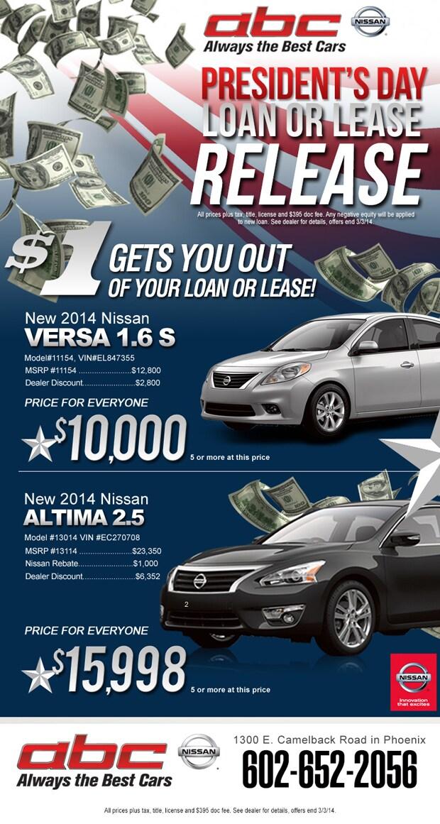 Presidents Day Nissan Sales Event Phoenix Az