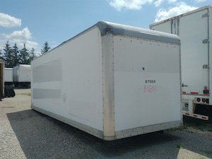 2006 Commercial Babcock 24Ft Storage Body Good Selection to Choose from