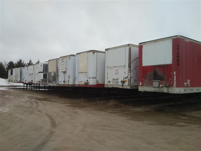1998 Great Dane Insulated Storage Trailers -