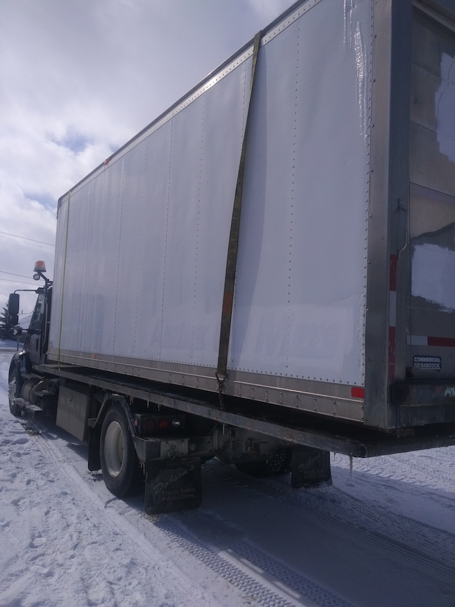 2006 Commercial Babcock 22FT. Insulated Storage Van