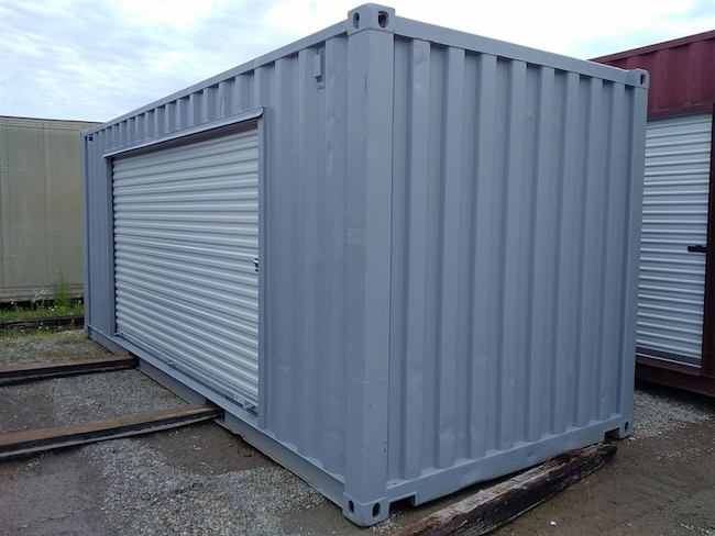 2010 CIMC 20 FT Container 12FT Roll up door