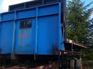 2000 Dobson Flat Deck with Under Body Hoist 17.5 FT