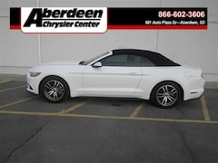 Used Vehicles 2017 Ford Mustang Ecoboost Premium Convertible in Aberdeen, SD
