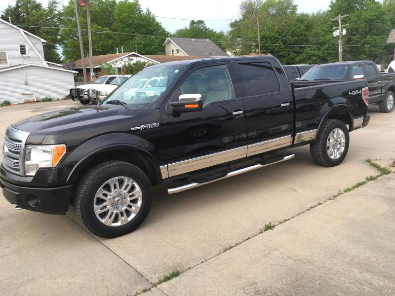 2010 Ford F-150 Platinum Crew Cab Short Bed Truck
