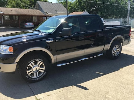 2008 Ford F-150 Lariat Crew Cab Short Bed Truck