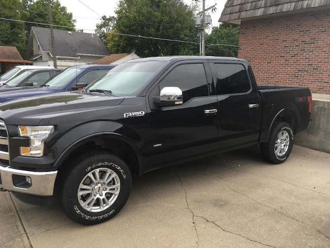 2015 Ford F-150 Lariat Crew Cab Short Bed Truck