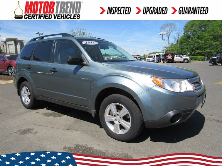 Used 2012 Subaru Forester 2.5X w/Alloy Wheel Value Pkg SUV JF2SHABC2CH427640 in Old Bridge, New Jersey