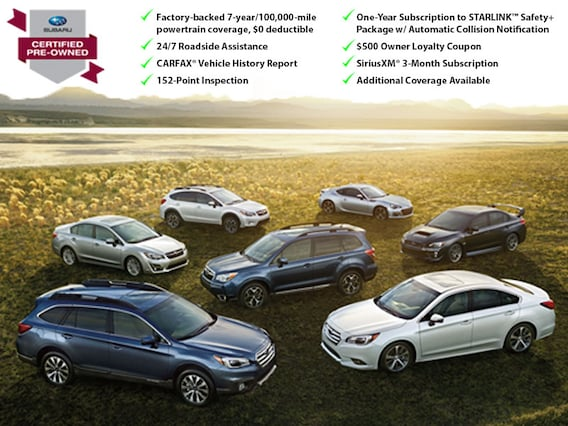 Subaru Certified Pre Owned >> All American Subaru Certified Pre Owned All American Subaru