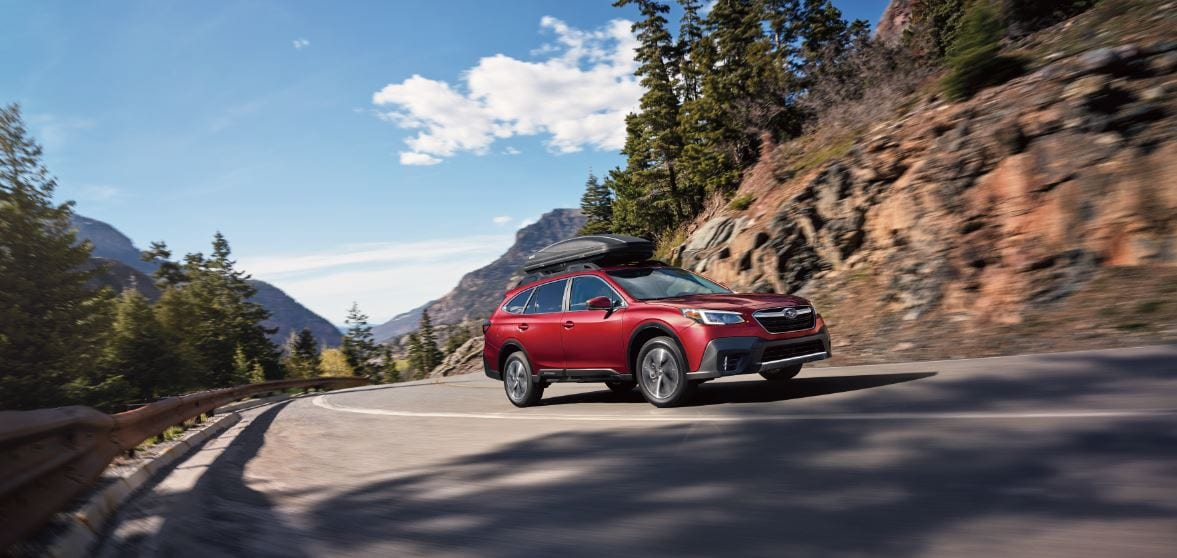 Red Subaru Outback 2020 For Families