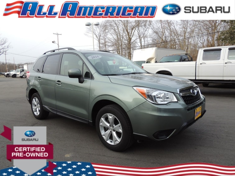 Certified Used 2016 Subaru Forester 2.5i Premium Awd SUV in Old Bridge, New Jersey