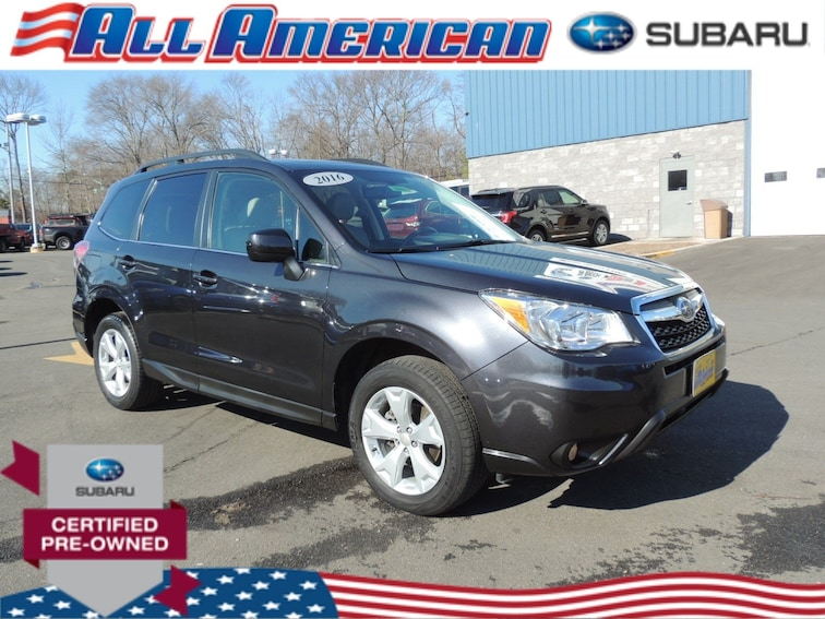 Certified Used 2016 Subaru Forester 2.5i Limited Awd SUV JF2SJAHC7GH466760 in Old Bridge, New Jersey