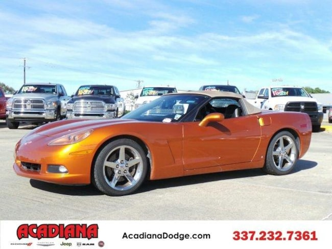 2007 Chevrolet Corvette 2dr Conv Convertible