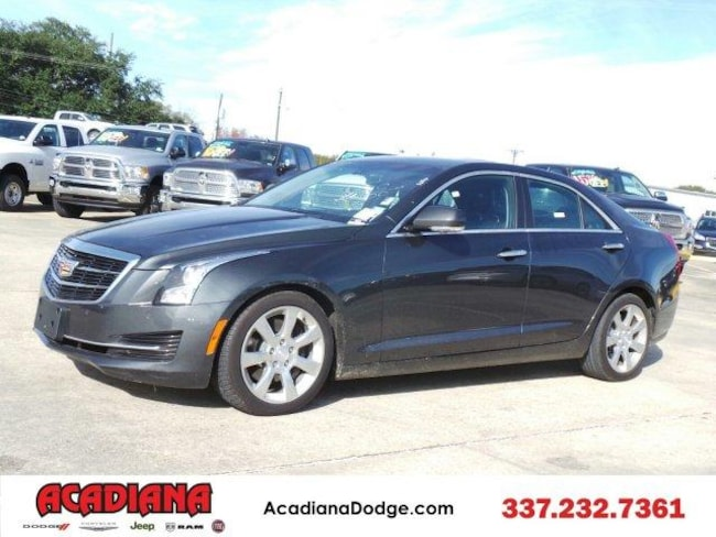 2015 Cadillac ATS Sedan Luxury RWD Sedan