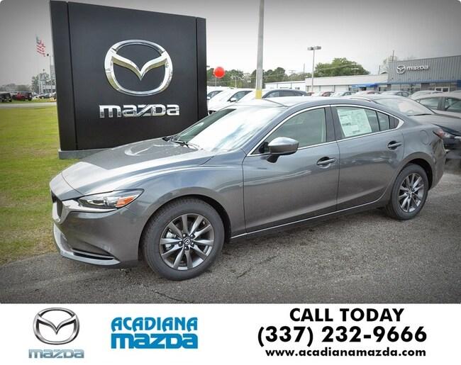 New 2018 Mazda Mazda6 Sport Sedan Lafayette, LA
