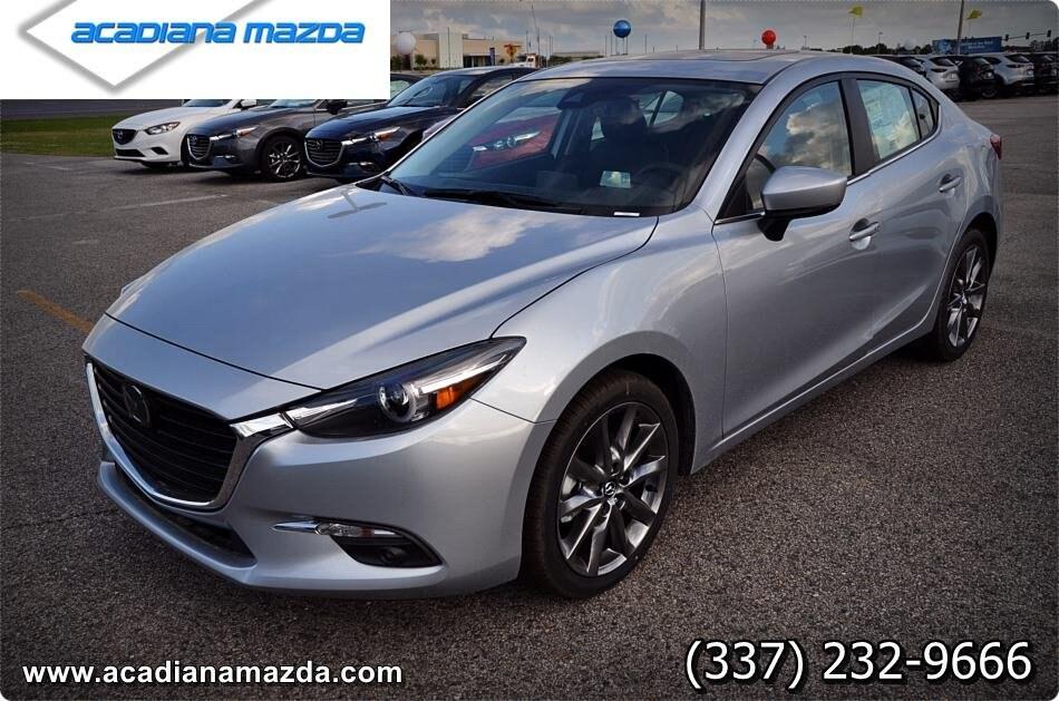 New 2018 Mazda Mazda3 Grand Touring Sedan Lafayette, LA