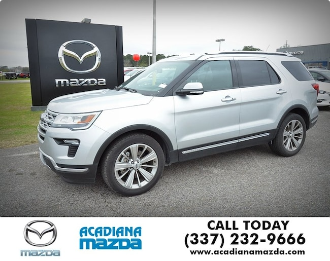Used 2018 Ford Explorer Limited SUV Lafayette
