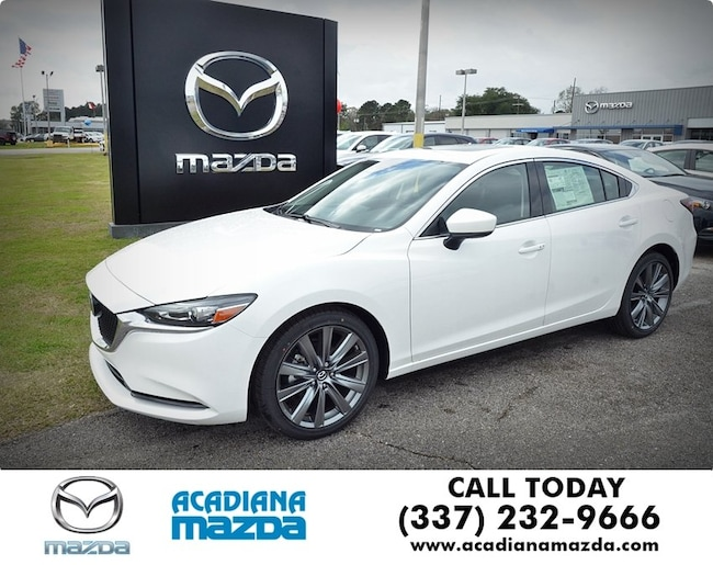 New 2018 Mazda Mazda6 Grand Touring Sedan Lafayette, LA