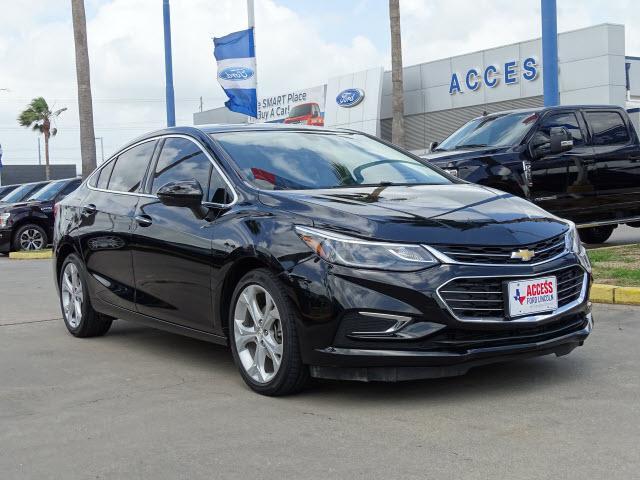 Used 2017 Chevrolet Cruze 4dr Sdn 1.4L Premier w/1SF Sedan Corpus Christi, TX