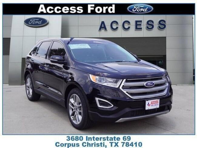 New 2018 Ford Edge Titanium SUV Corpus Christi, TX