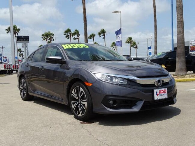 Used 2017 Honda Civic EX-L CVT Sedan Corpus Christi, TX