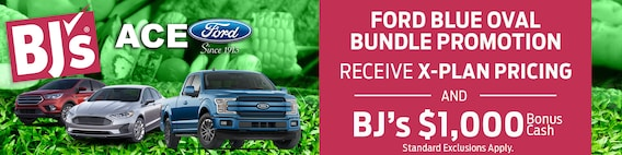 Bj S Wholesale Club Ford Blue Oval Bundle Promotion Ace Ford