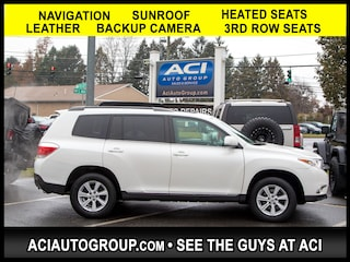 2012 Toyota Highlander Limited V6 AWD SUV