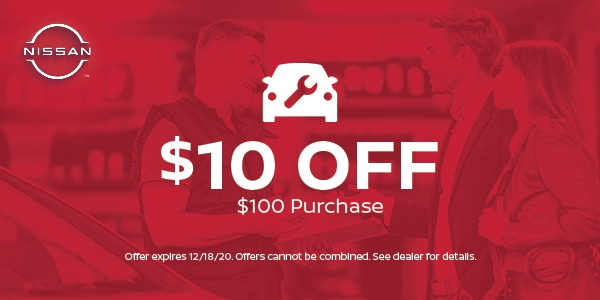 $10 off $100 purchase