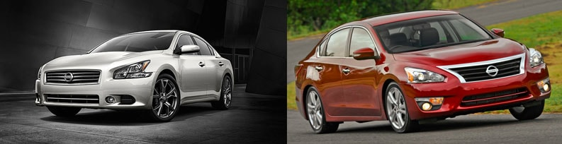 2014 Nissan Maxima Vs Altima Comparison