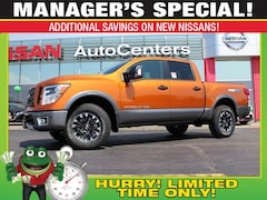 2019 Nissan Titan PRO 4WD - Premium, Convenience and Utility Package Truck