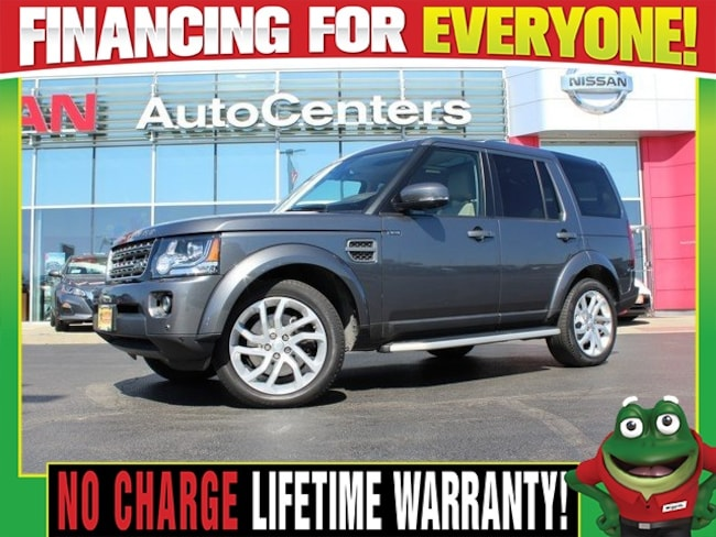 Used 2016 Land Rover LR4 4WD - Moonroof - Navigation SUV for sale in Wood River IL
