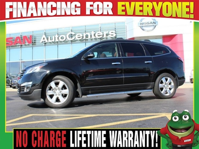 Used 2016 Chevrolet Traverse LTZ AWD - Dual Moonroofs - Navigation SUV for sale in Wood River IL