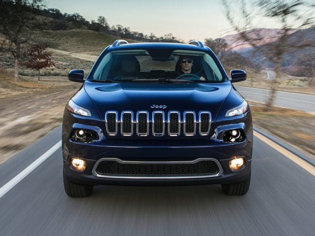 2017 Jeep Grand Cherokee front end
