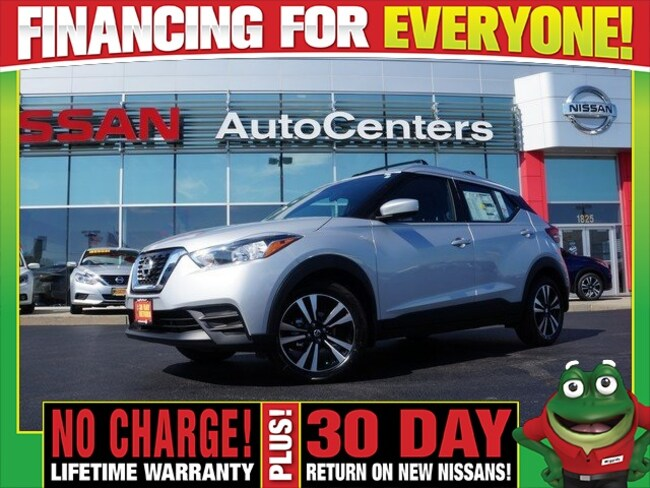 New 2018 Nissan Kicks SV - Exterior Package SUV for sale near St Louis MO