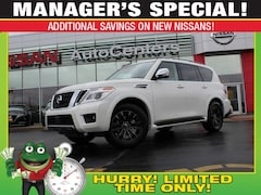 New 2019 Nissan Armada Platinum 4WD - Interior Lighting, Cargo, Captain's SUV for sale near St Louis MO
