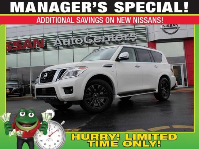 New 2019 Nissan Armada Platinum 4WD - Interior Lighting, Cargo, Captain's SUV for sale near St Louis MO