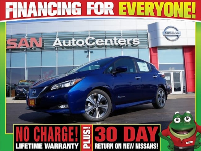 New 2018 Nissan Leaf SV - Technology, All Weather, and Protection Packa Hatchback for sale near St Louis MO