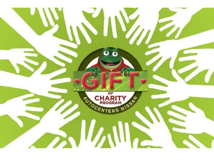 AutoCenters Nissan Gift of Charity Program