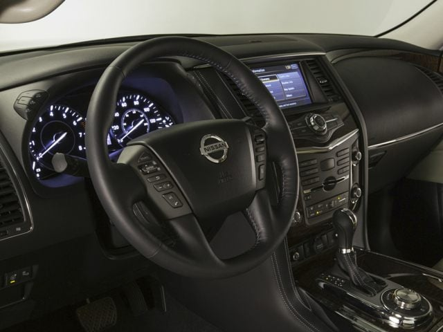 2017 Nissan Armada steering wheel