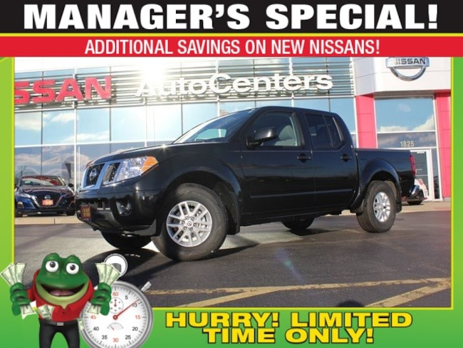 New 2019 Nissan Frontier SV 4WD - Value Truck and Moonroof Packages Truck for sale near St Louis MO