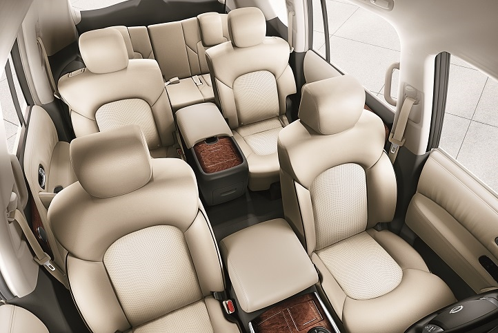 seating capacity in a 2017 Nissan Armada
