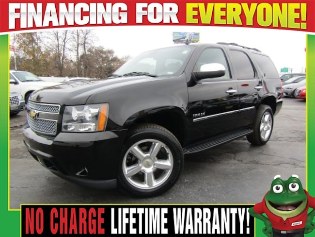 Used 2013 Chevrolet Tahoe LTZ 4WD - Navigation - DVD - Moonroof SUV St. Louis, MO
