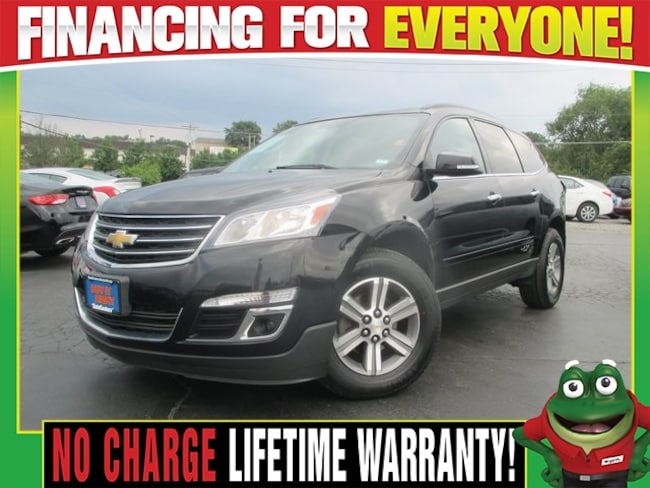 Used 2016 Chevrolet Traverse 2LT AWD - HEATED LEATHER - NAVIGATION SUV St. Louis, MO