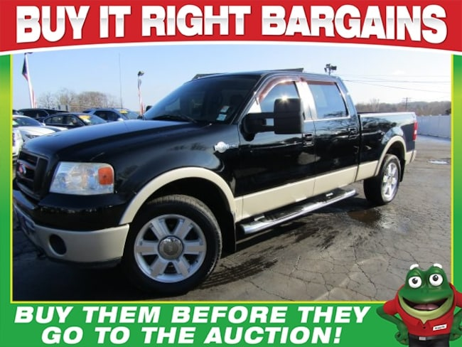 Used 2008 Ford F-150 SuperCrew King Ranch Heated Leather-Alloys-Tow Package Truck SuperCrew Cab St. Louis, MO