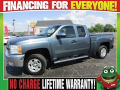 2013 Chevrolet Silverado 1500 LT 4WD - Tow Package - Power Slider Truck Extended Cab