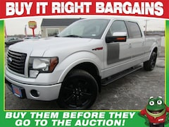 2012 Ford F-150 FX4 Heated Leather-Tow Package Truck SuperCrew Cab