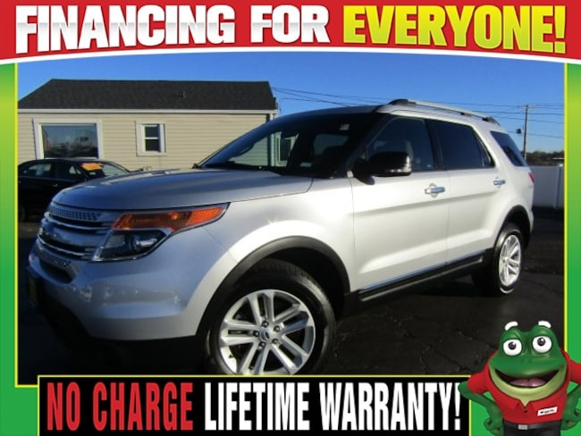 Used 2015 Ford Explorer XLT 3rd Row Seating-Alloy Wheels SUV St. Louis, MO