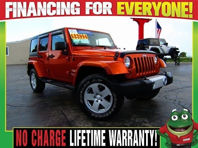 Used Used 2011 Jeep Wrangler Unlimited For Sale | Near St. Louis, MO | VIN#  1J4BA5H17BL521096